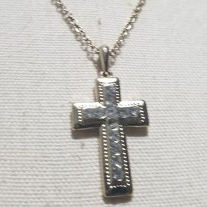 Sold Cross Necklace